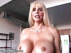 Big Titty Blonde MILF On Scene