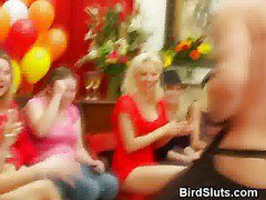 Wild Women Turn Bridal Shower In To Blowjob Party