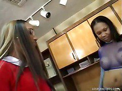 School Detention With Hot Black Chicks