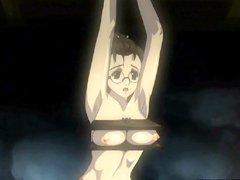 Bondage Japanese hentai gets shoved wetpussy and hard fucked