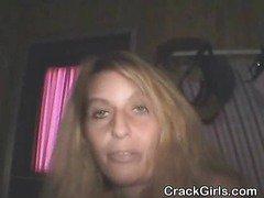 Dirty Blonde Amateur Crack Whore Sucks Dick For Cash