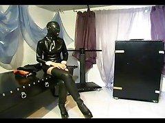 Domina humiliating her slave girl