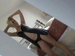 Big tits blonde amateur girlfriend homemade sex video