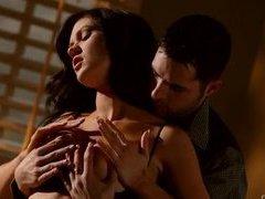 Smoking hot busty pornstar Kendall Karson glamour sex
