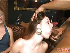 these girlfriends love to put cock