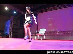 Public erotic dance