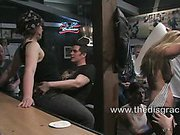 Harmony Rose gets fucked in a biker bar