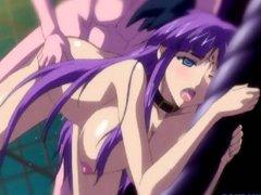 Busty hentai virgin hard poking and cumshoting