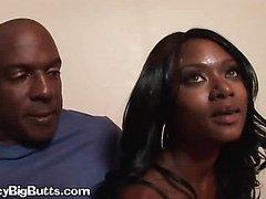 Ebony Women Share One Dick