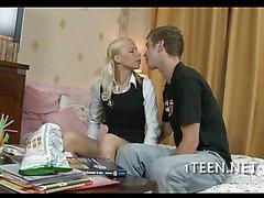 Alluring teenie