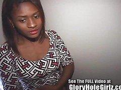 Cute ebony Adria with a tongue ring an knows how to work it